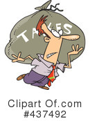 Taxes Clipart #437492 by toonaday