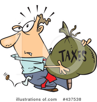 Taxes Clipart #437538 by toonaday