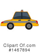 Royalty-Free (RF) Taxi Clipart Illustration #1467894