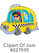 Royalty-Free (RF) Taxi Clipart Illustration #227535