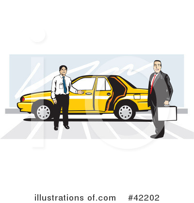 Taxi Clipart #42202 by David Rey