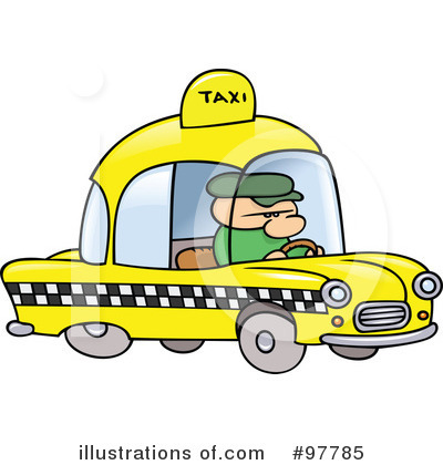 Taxi Clipart #97785 by gnurf