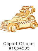 Taxi Driver Clipart #1064505