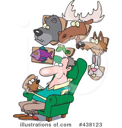 Hunter Clipart #438123 by toonaday