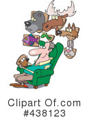 Royalty-Free (RF) Taxidermy Clipart Illustration #438123