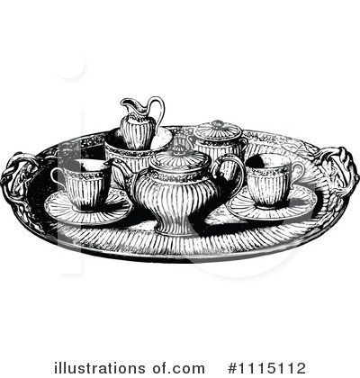 Tea Pot Clipart #1115112 by Prawny Vintage