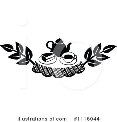 Tea Pot Clipart #1116044 by Prawny Vintage