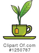 Royalty-Free (RF) Tea Clipart Illustration #1250787
