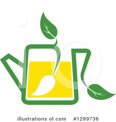 Green Tea Clipart #1289736 by Vector Tradition SM