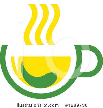 Green Tea Clipart #1289738 by Vector Tradition SM