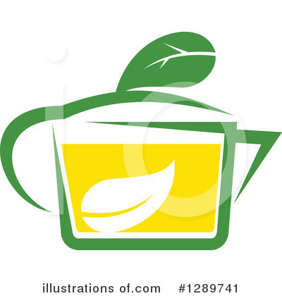 Green Tea Clipart #1289741 by Vector Tradition SM