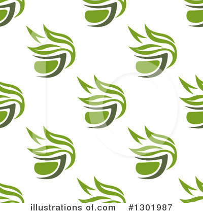 Green Tea Clipart #1301987 by Vector Tradition SM