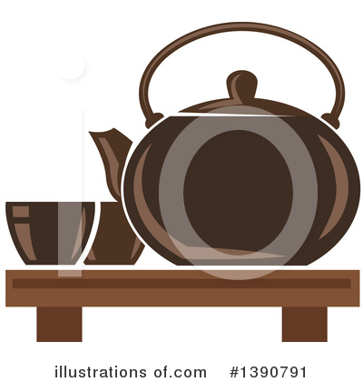 Tea Clipart #1390791 by Vector Tradition SM