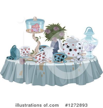 Alice In Wonderland Clipart #1272893 by Pushkin