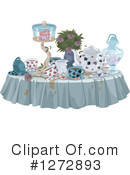 Tea Party Clipart #1272893 by Pushkin