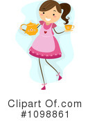 Royalty-Free (RF) Tea Time Clipart Illustration #1098861
