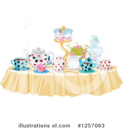 Alice In Wonderland Clipart #1257063 by Pushkin