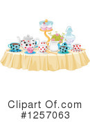Tea Time Clipart #1257063 by Pushkin