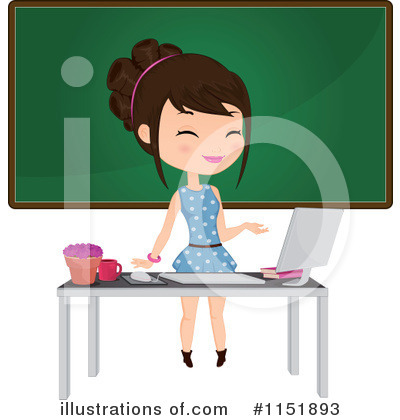 Desktop Computer Clipart #1151893 by Melisende Vector