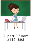 Royalty-Free (RF) Teacher Clipart Illustration #1151893