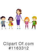 Royalty-Free (RF) Teacher Clipart Illustration #1163312