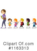 Royalty-Free (RF) Teacher Clipart Illustration #1163313