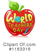 Royalty-Free (RF) teacher Clipart Illustration #1163316
