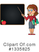 Royalty-Free (RF) Teacher Clipart Illustration #1335825