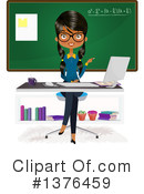 Royalty-Free (RF) Teacher Clipart Illustration #1376459