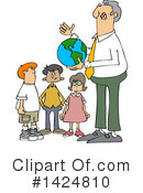 Royalty-Free (RF) Teacher Clipart Illustration #1424810