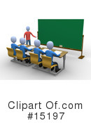 Royalty-Free (RF) Teacher Clipart Illustration #15197