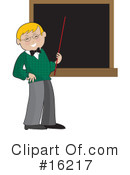 Royalty-Free (RF) Teacher Clipart Illustration #16217