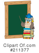 Royalty-Free (RF) Teacher Clipart Illustration #211377
