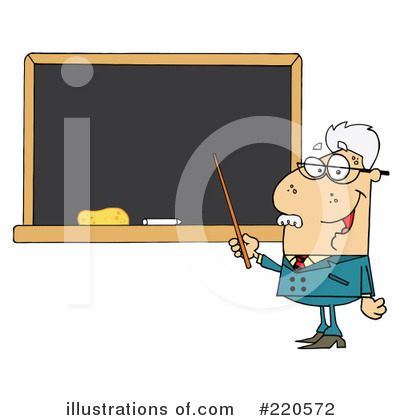 Professor Clipart #220572 by Hit Toon