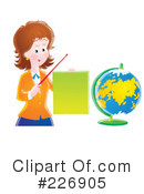 Royalty-Free (RF) teacher Clipart Illustration #226905