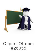 Royalty-Free (RF) Teacher Clipart Illustration #26955