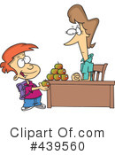 Royalty-Free (RF) teacher Clipart Illustration #439560