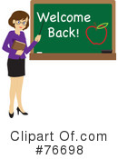 Royalty-Free (RF) Teacher Clipart Illustration #76698