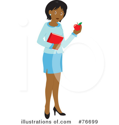 Teacher Clipart #76699 by