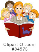 Royalty-Free (RF) Teacher Clipart Illustration #84573
