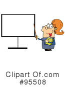 Royalty-Free (RF) Teacher Clipart Illustration #95508