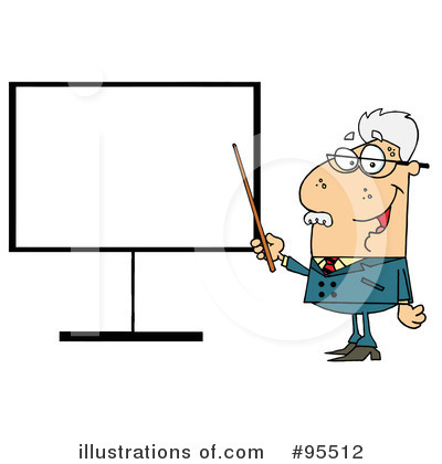 Professor Clipart #95512 by Hit Toon