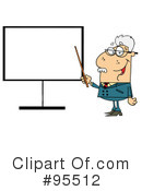 Royalty-Free (RF) teacher Clipart Illustration #95512