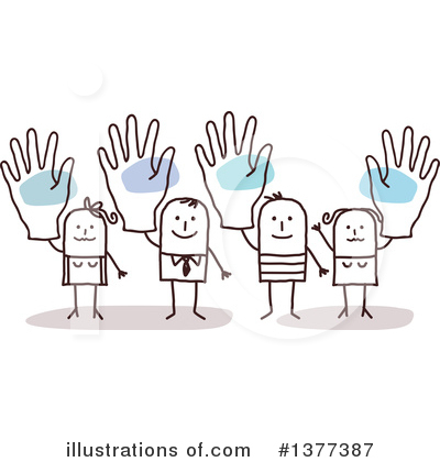 Volunteers Clipart #1377387 by NL shop