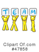 Team Clipart #47858 by Leo Blanchette