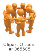 Royalty-Free (RF) teamwork Clipart Illustration #1065605