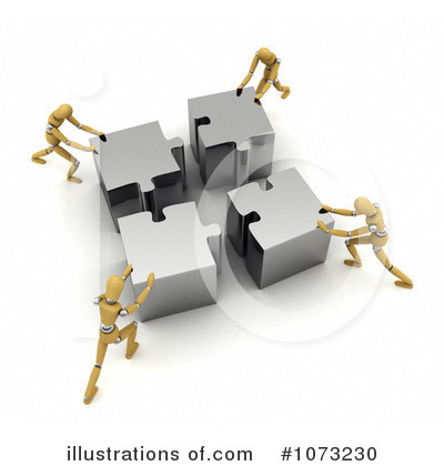 Royalty-Free (RF) Teamwork Clipart Illustration by stockillustrations - Stock Sample #1073230