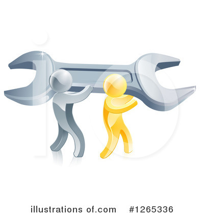 Plumber Clipart #1265336 by AtStockIllustration