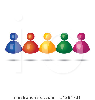 Business Team Clipart #1294731 by ColorMagic