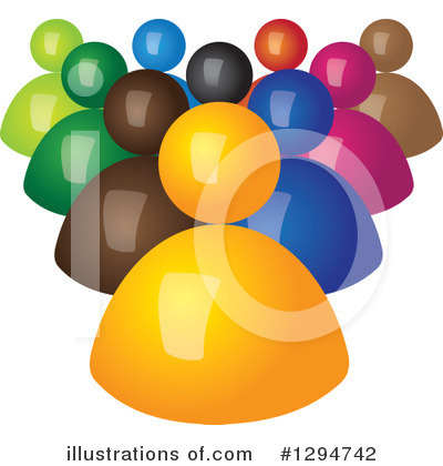 Leader Clipart #1294742 by ColorMagic